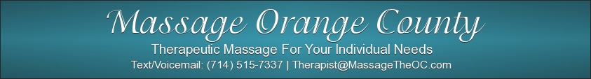 Massage Orange County Banner